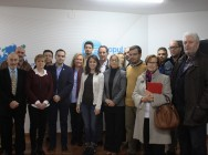 Junta Directiva Local con Andrea Levy